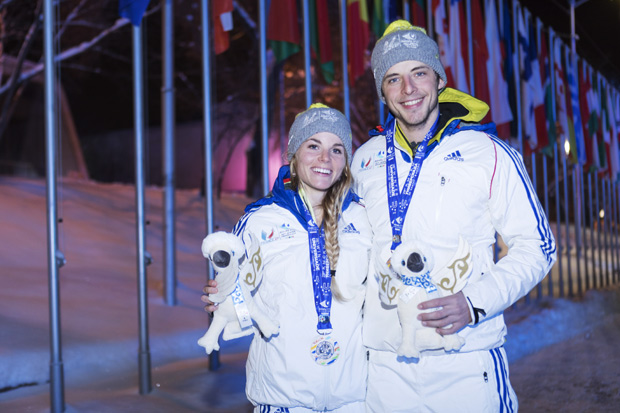 medaille-argent-cross-country-sprint-mixte-Celine-Chopard-Lallier-et-Louis-Schwartz-2