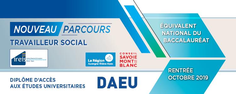 DAEU Travailleur Social Formation Professionnelle Continue USMB
