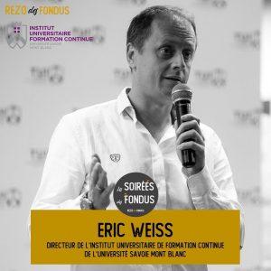 Formation Continue et Rezo des Fondus - Eric Weiss
