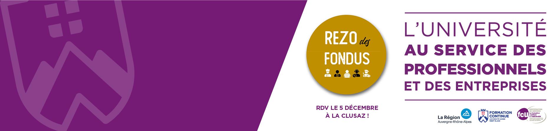 IUFC patenaire du REZO des FONDUS