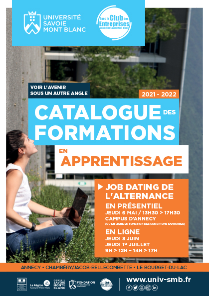 Catalogue PDF Formation alternance Université Savoie Mont Blanc