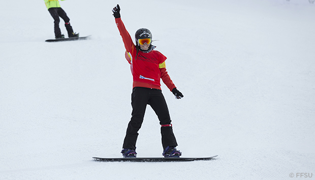 Universiade-2017--Sarah-Devouassoux-medaille-or-snowboardcross-@-FFSU_