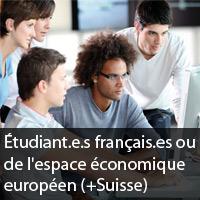 etudiant francais europeen