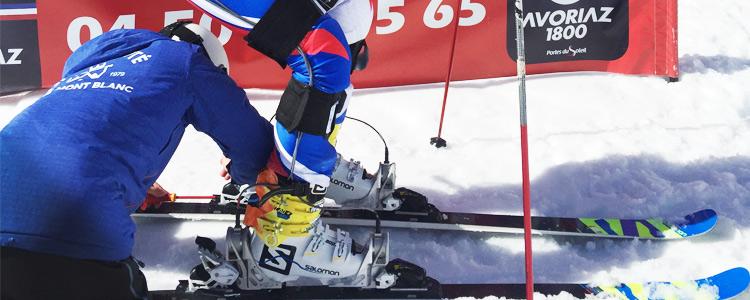 Des chercheuses et chercheurs de l'USMB optimisent  la performance et les équipements des skieuses et skieurs alpins - Université Savoie Mont Blanc - Formation - Recherche