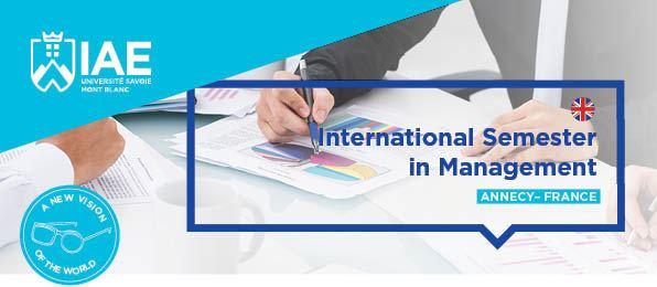 International semester in management