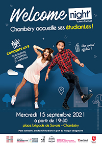 welcome night 2021 affiche