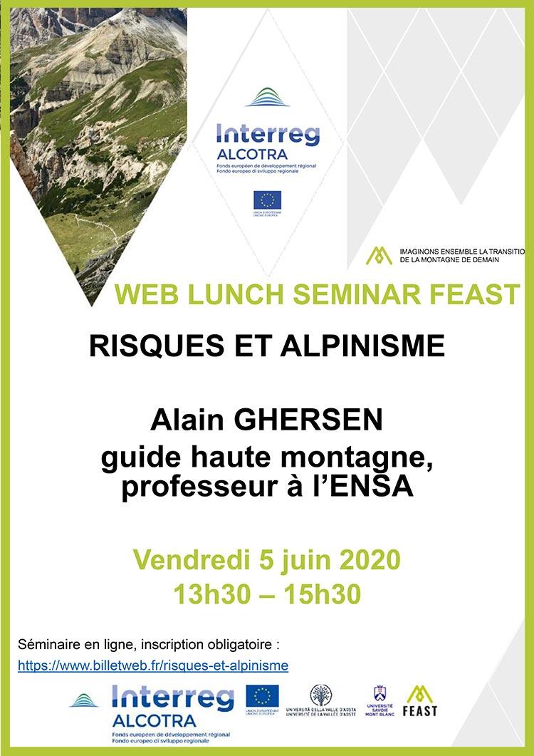 Feast Seminaire Risques Alpinisme