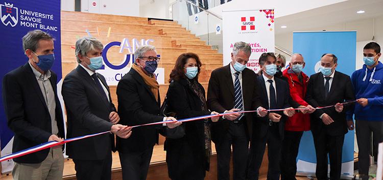 Inauguration De La 4e Aile De L'iut De Chambéry 2020 @ Virgin