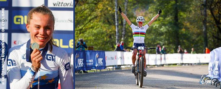 Loana Lecomte Championne D'europe Espoirs 2020