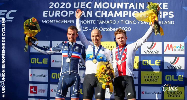 Titouan Carod Vice Champion D'europe 2020