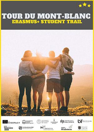 Affiche Trail Mont Blanc Erasmus