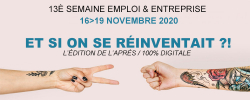 semaine emploi entreprise 2020 banner
