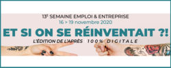 Banner Semaine Emploi Entreprise 2020
