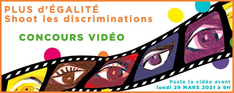 Bandeau Concours Shoot Discrimination 2021