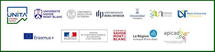 Logos Unita Ateliers Intercomprehension