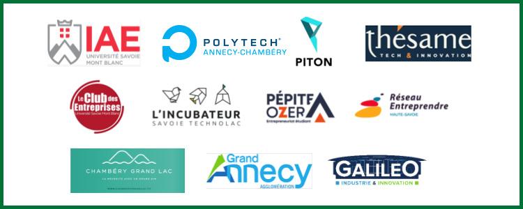 logos partenaires pitch live 2021