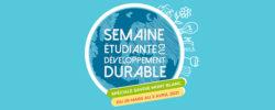 semaine etudiante développement durable 2021