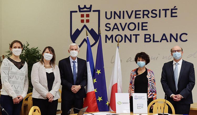 convention avec la kagawa university groupe