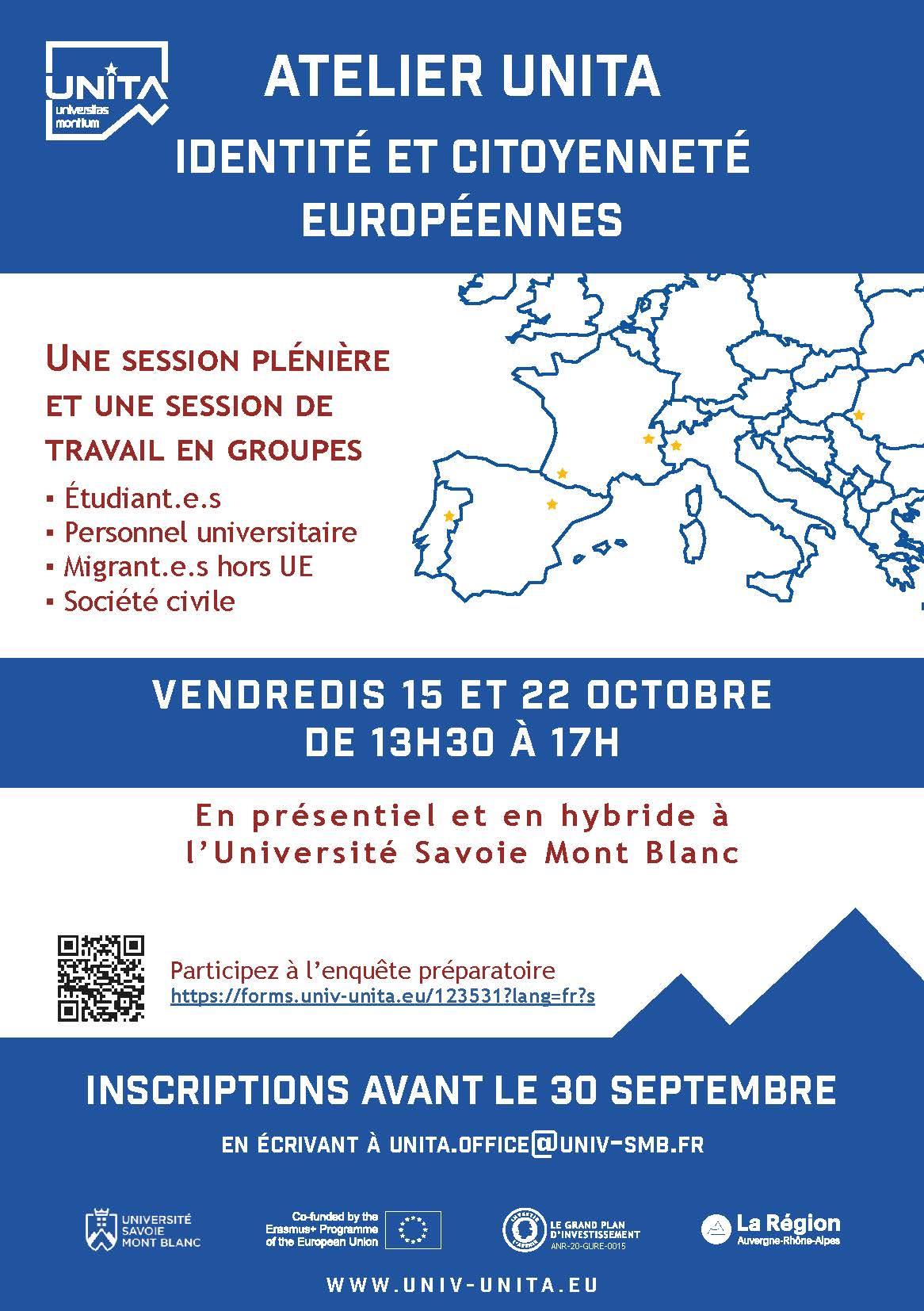 flyer atelier citoyenneté européenne